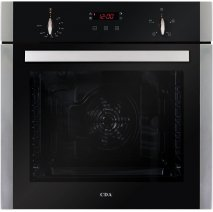 CDA SK210SS 60cm Multifunctional Electric Fan Oven in Stainless Steel with Free 5Yr Parts, 2Yr Labour Guarantee via Registration