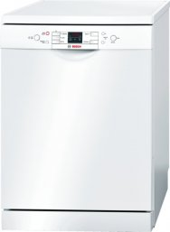 Bosch SMS58M42GB 60cm Standard Dishwasher in White with 14 Place Settings