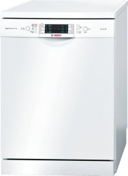 Bosch SMS69M12GB 60cm Freestanding Dishwasher in White with 14 Place Settings