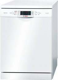 Bosch SMS69M22GB 60cm Freestanding Dishwasher in White with 13 Place Settings