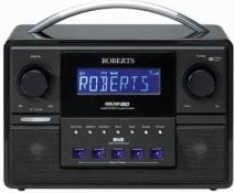 Roberts Sound 80 Portable DAB Radio in Black