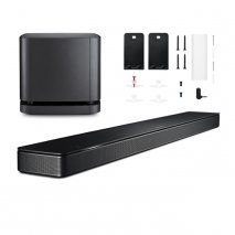 Bose Soundbar 500 with Wall Bracket and Bass Module 500 Subwoofer in Black