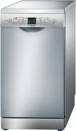 Bosch SPS53M08GB 45cm Slimline Dishwasher in Silver with 9 Place Settings
