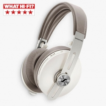Sennheiser Momentum Wireless 3 Noise Cancelling Bluetooth Over Ear Headphones with Mic and Remote Sandy White Side
