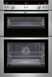 Neff Series 3 U15E52N3GB Double oven Stainless steel