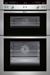 Neff Series 5 U16E74N3GB Double oven Stainless steel
