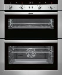 Neff U17M52N3GB Built-under double oven Stainless steel