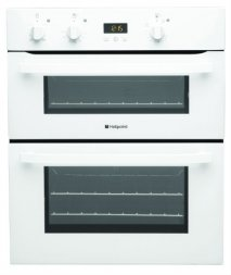 Hotpoint UH53WS 60cm Wide Electric Double Oven in White