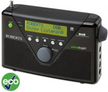 Roberts UNOLOGIC DAB Radio in Black