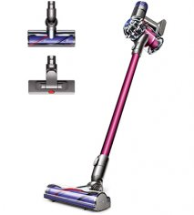 Dyson V6 Absolute Cordless Vacuum Cleaner with Mini Motorised tool, Hard Floor Tool and Direct Drive heads, Dyson V6 Absolute Cordless Vacuum Cleaner with Mini Motorised tool Hard Floor Tool and Direct Drive heads