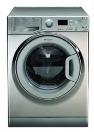 Hotpoint WDPG8640X Aquarius Plus Washer Dryer in Stainless Steel