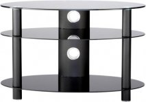 Alphason AR800 Accord Table Stand in Black for Screens up to 37''