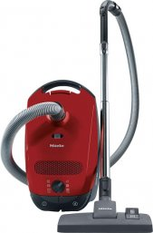 Miele Classic C1 Powerline Bagged Cylinder Vacuum Cleaner Autumn Red 10155090