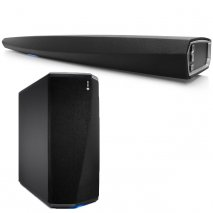 Denon Heos Bar HEOSBARBKE2GB with Subwoofer HEOSSUBBKE2GB