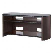 Alphason FW1100 Finewoods TV Stand in Black for Screens up to 50''