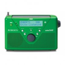 Roberts radio SolarDAB 2 DAB/FM RDS digital solar radio in Green