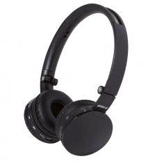 Groov-e GVBT100B Wave Bluetooth Stereo Headphones with Mic Black