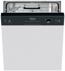 Hotpoint LSB5B019B Semi Integrated Dishwasher with 13 place settings