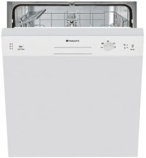 Hotpoint LSB5B019W Semi Integrated Dishwasher 13 Place Settings