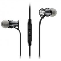 Sennheiser MOMENTUM-M2 IEg for Samsung Galaxy - Black and Chrome