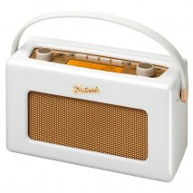 Roberts RD60 Revival DAB Jubilee Edition Portable Radio Gloss White