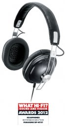 Panasonic RPHTX7 Retro Style High Quality Monitor Headphones in Black