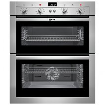 Neff U17M42N3GB Double Built-Under Electric Oven in Stainless Steel