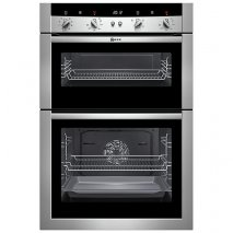 Neff U15M52N3GB Double Electric Oven in Stainless Steel