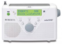 Roberts radio SolarDAB 2 DAB/FM RDS digital solar radio in White