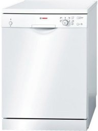 Bosch SMS50T02GB 60cm Freestanding Dishwasher with 12 Place Settings in White