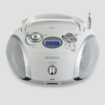 Roberts radio DAB/FM RDS digital radio and CD/SD player with MP3/WMA and LCD zoom