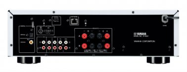 Yamaha RN301S Network Receiver with AirPlay compatibility in Silver back
