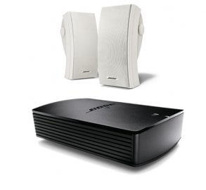 Bose® SoundTouch® SA-5 Amplifier with Bose® 251® Environmental in White