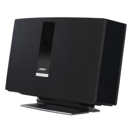 Bose SoundTouch 30 Series III Wireless Music System with SoundXtra SDXBST30DS1021 Desk Stand in Black