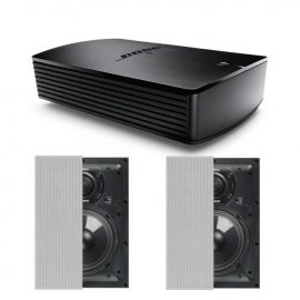 Bose® SoundTouch® SA-5 Amplifier with 2X Q Acoustics Q Install QI65RP In-Wall Speaker