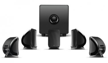 Focal Sib & Co 5.1-Channel Home Theater Pack In Jet Black
