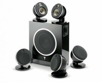 Focal Dome Flax 5.1 & Sub Air Black