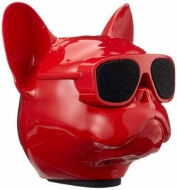 Jarre Aerobull Nano Bluetooth Speaker in Glossy Red