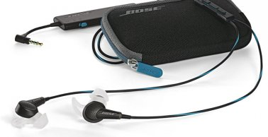 Bose QuietComfort 20 Acoustic Noise Cancelling Headphones in Black for Selected Samsung and Android Devices