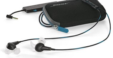 Bose QuietComfort 20 Acoustic Noise Cancelling Headphones in Black for Selected Apple Devices