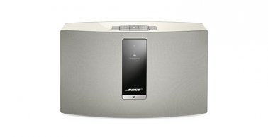 Bose® SoundTouch® 20 Wireless Music System with SoundXtra Desk Stand in White