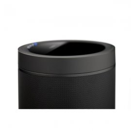 Yamaha MusicCast 20 Wifi Wireless Smart Speakers Bluetooth and Airplay Voice Activated Ready Black Half View