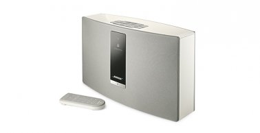 Bose® SoundTouch® 20 Wireless Music System with SoundXtra Floor Stand in White