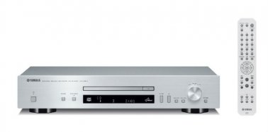 Yamaha CDN301S CD player in Silver