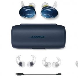 Bose SoundSport Free Truly Wireless Headphones in Midnight Blue