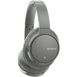 Sony WHCH700NHCE7 Noise Cancelling Over Ear Headphones with Mic Remote Grey - side