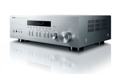 Yamaha RN301S Network Receiver with AirPlay compatibility in Silver bottom