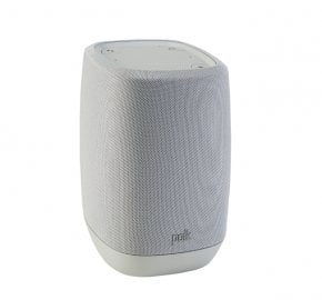 Polk Assist Bluetooth Smart Speaker with the Google Assistant Built-In in Grey