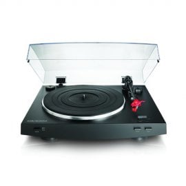 Audio Technica AT-LP3BK Advanced Fully Automatic Belt-Drive Stereo Turntable in Black