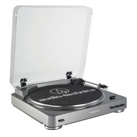 Audio Technica AT-LP60USB Fully Automatic Belt-Drive USB Turntable with LP-to-Digital Recording